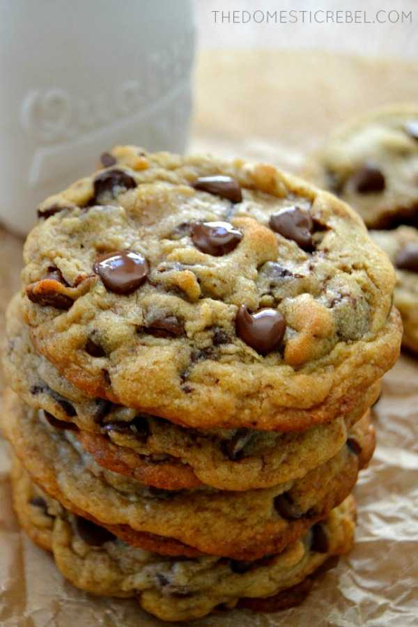 Ultimate Chocolate Chip Cookies, 30 Delicious Christmas Cookie Recipes via A Blissful Nest