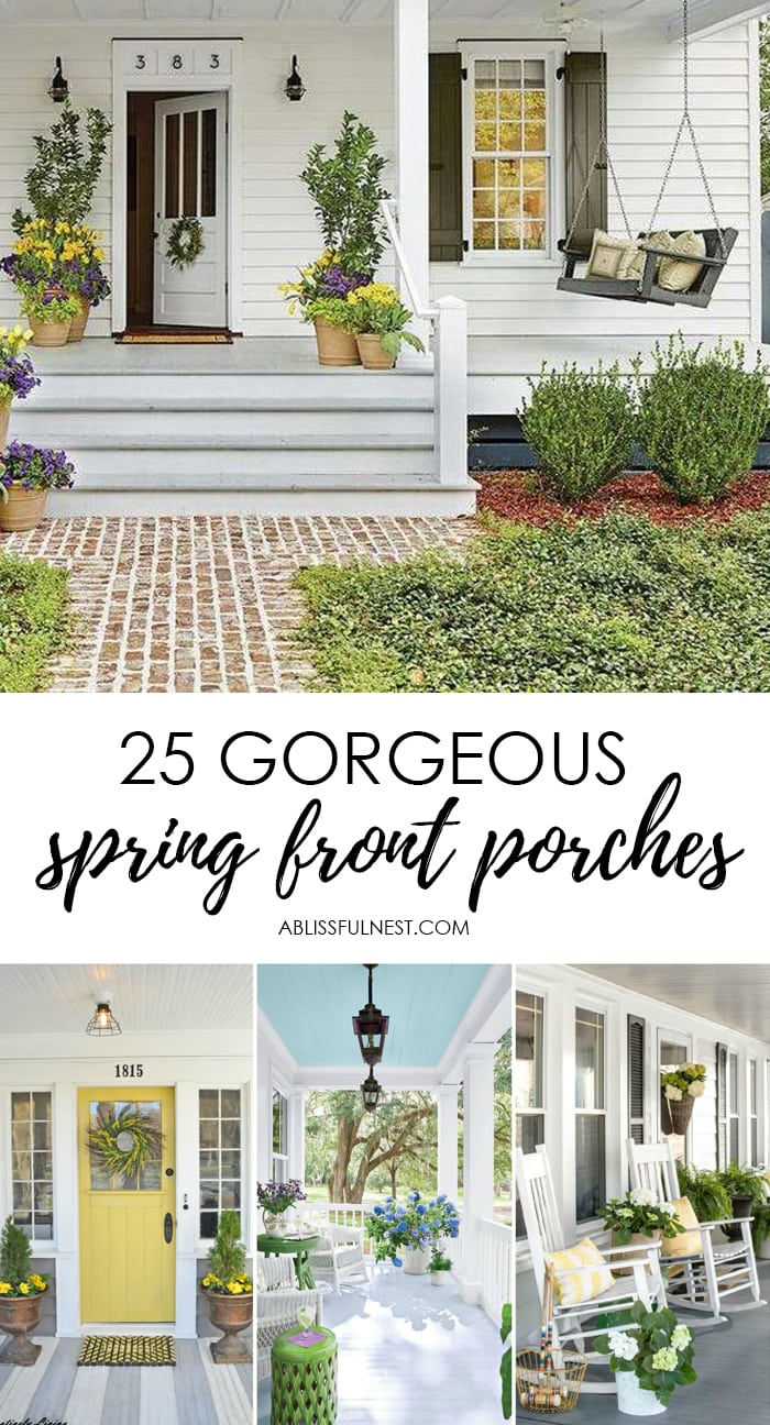 25 spring front porch ideas bright and