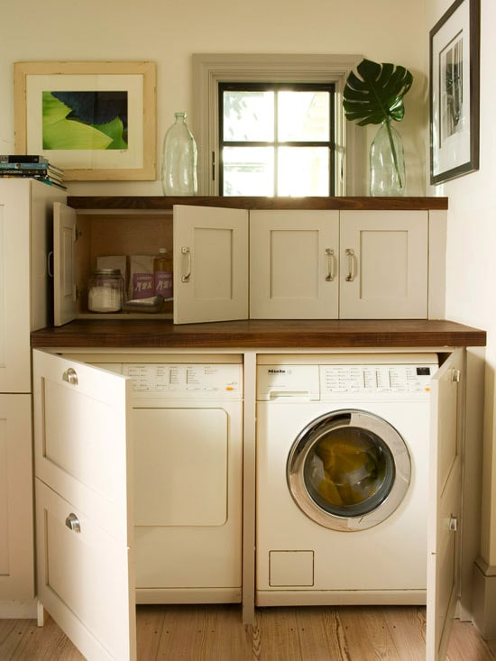 Creative Laundry Room Ideas for Your Home - 20 Ways To Get ... on Laundry Room Cabinet Ideas  id=31909