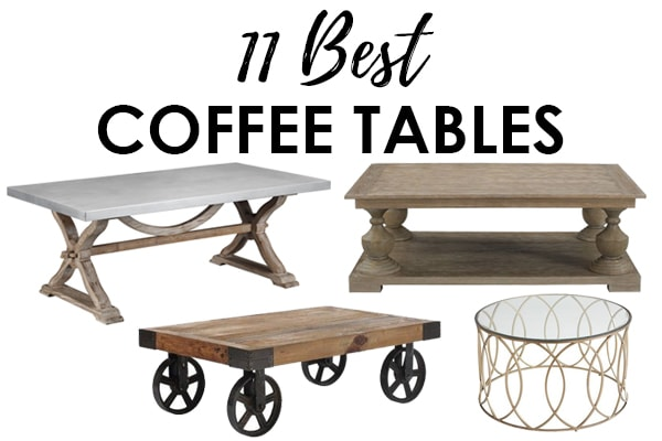 coffee tables to decorate your home