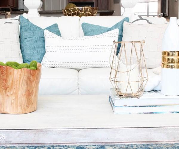 Spring Living Room Refresh Idea