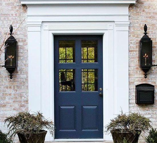 Best Exterior Home Design 2017: Front Door Paint Colors To Create Gorgeous Curb Appeal