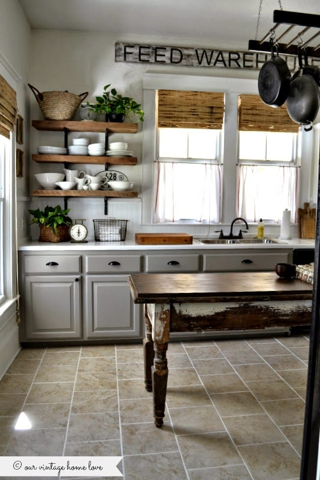 20 Beautiful Kitchen Cabinet Colors that will have you changing your mind about a neutral kitchen!