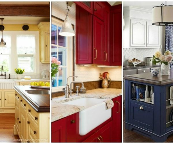 20 Beautiful Kitchen Cabinet Colors