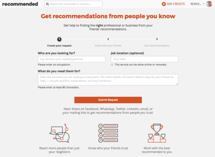 This is the most amazing site to get referrals for services from your friends! Bookmark them for later and even book appointments online. What a time saver! #recommended #ad