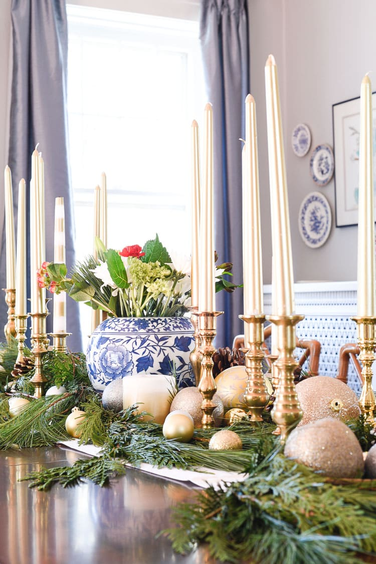 Vintage Inspired Holiday Decor Christmas Tablescape And