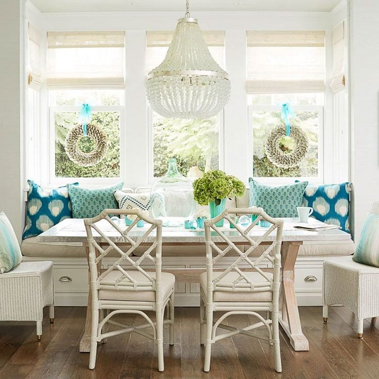 How to Decorate with Turquoise - 5 Design Tips - A Blissful Nest