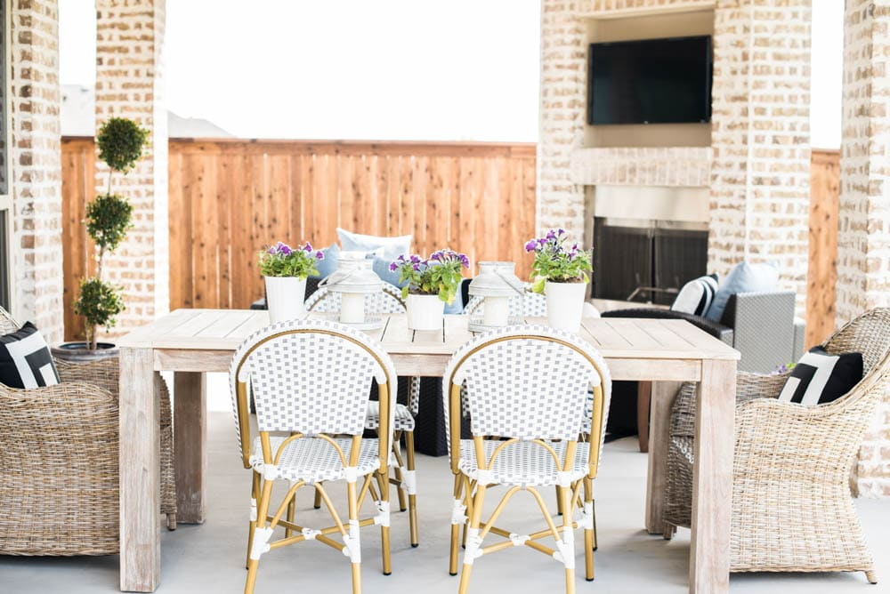 Small Backyard Patio Ideas + My Outdoor Living Space Reveal on My Garden Outdoor Living id=12314