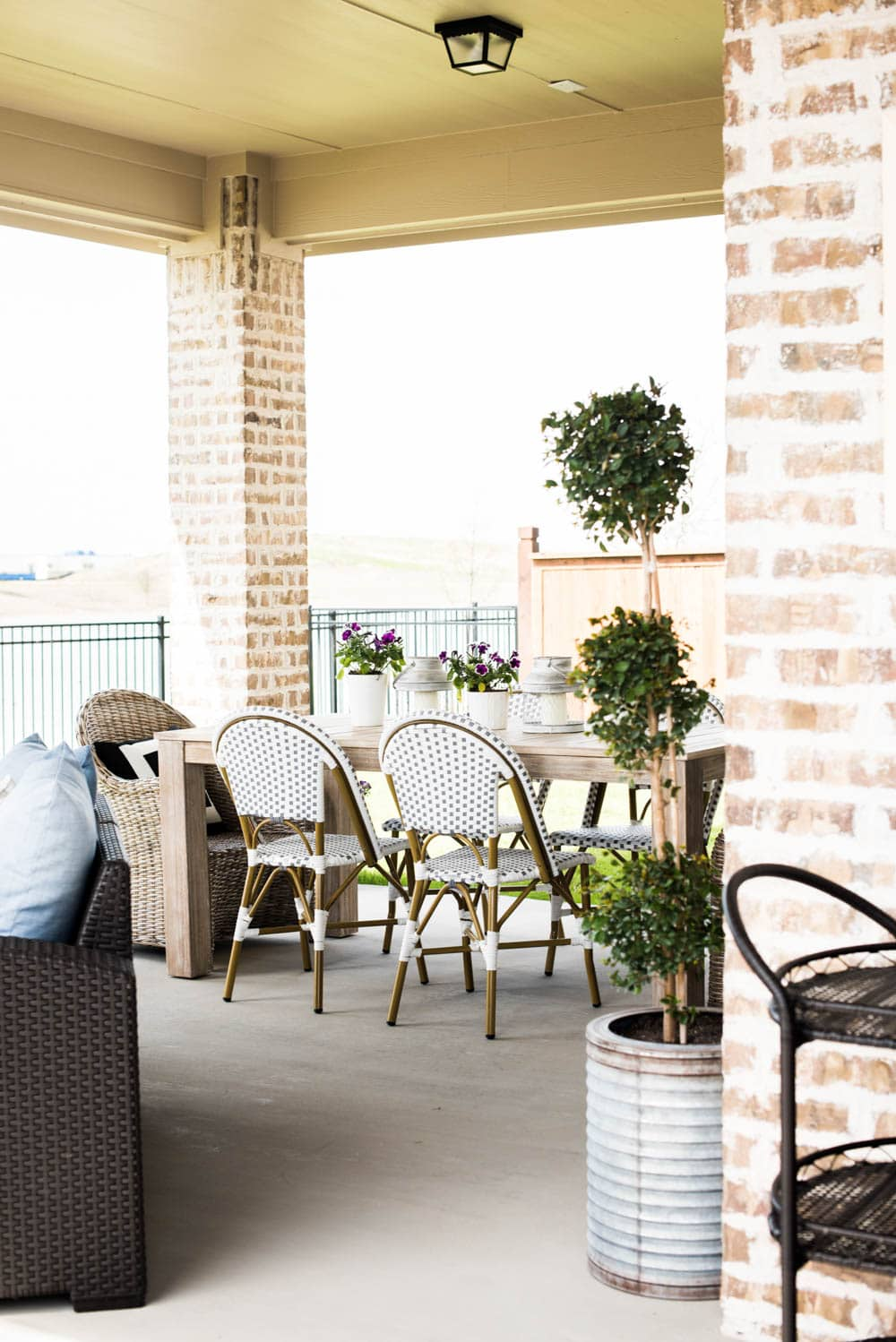 Small Backyard Patio Ideas + My Outdoor Living Space Reveal on My Backyard Living id=38080