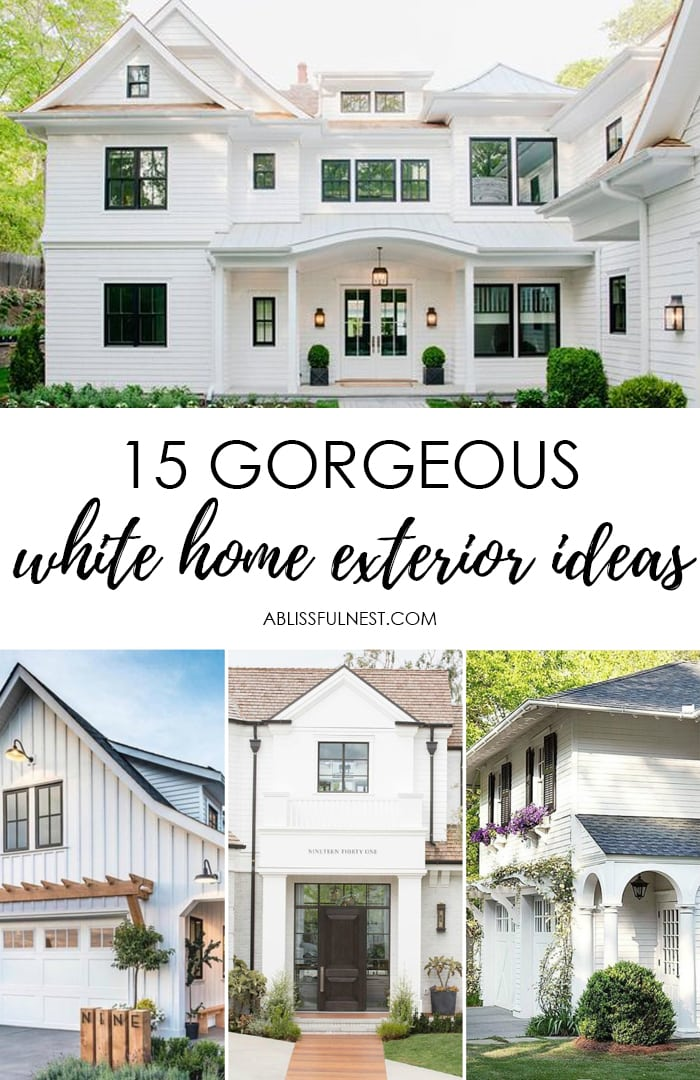 Home Ideas Exterior Homes And House Beautiful: 15 Best White Home Exterior Ideas To Up Your Curb Appeal