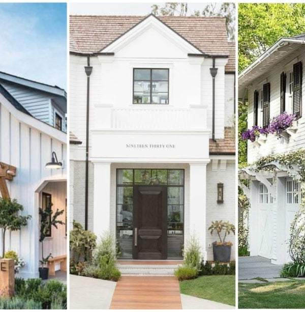 15 Gorgeous White Home Exterior Ideas