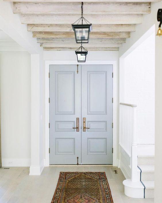 Painted Interior Front Door