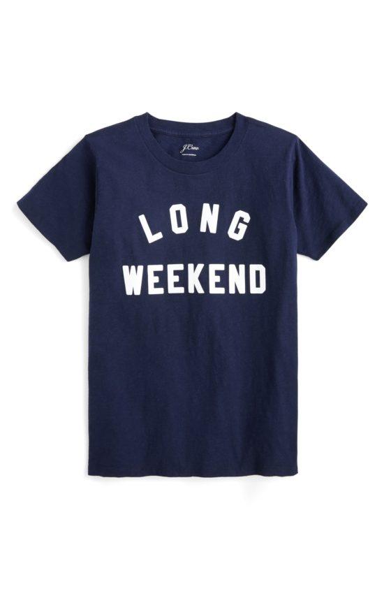 Long Weekend T-Shirt