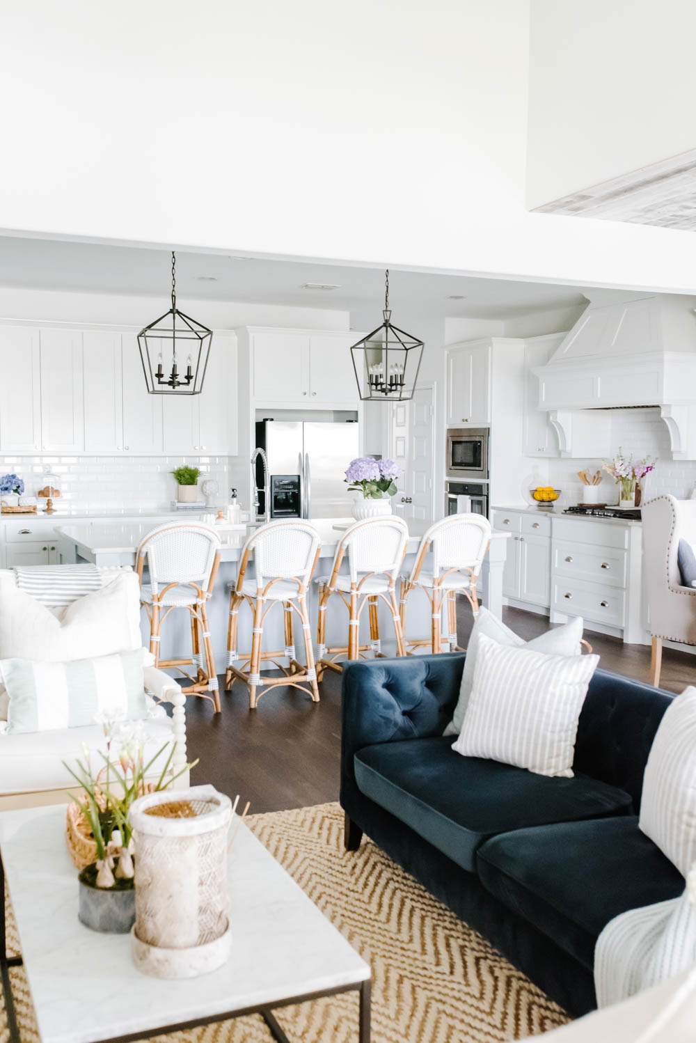 Simple And Fresh Summer Kitchen Decorating Ideas A Blissful Nest