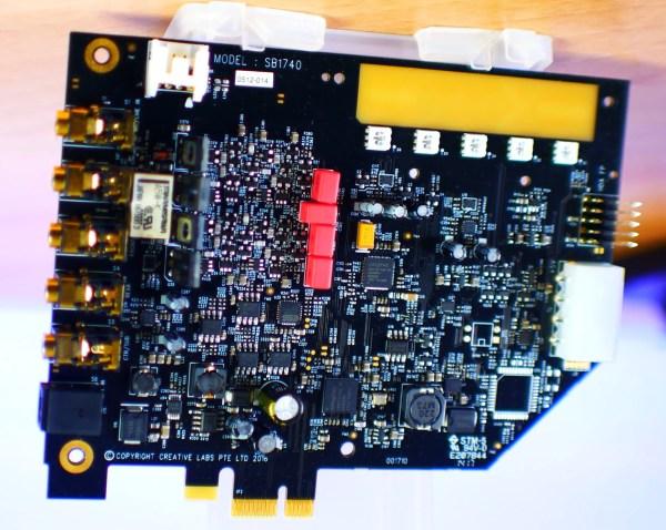 Creative Labs Sound BlasterX AE-5 | [H]ard|Forum