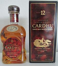 Cardhu 12 Flasche