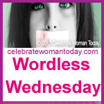 Projektbutton Wordless Wednesday voncelebratewomantoday com