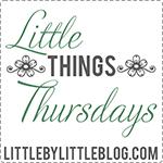 Projektbutton fuer das Foto Projekt littele things on Thuersday Donnerstag von littlebylittle