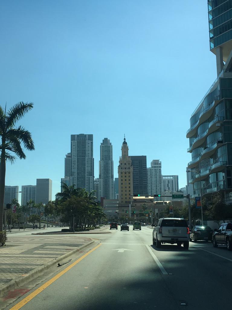 Downtown mit Blick nach Brikell