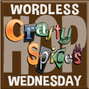 Projektbutton Wordless Wednesday von Crafty Spices