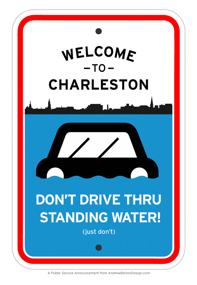 charleston flooding psa