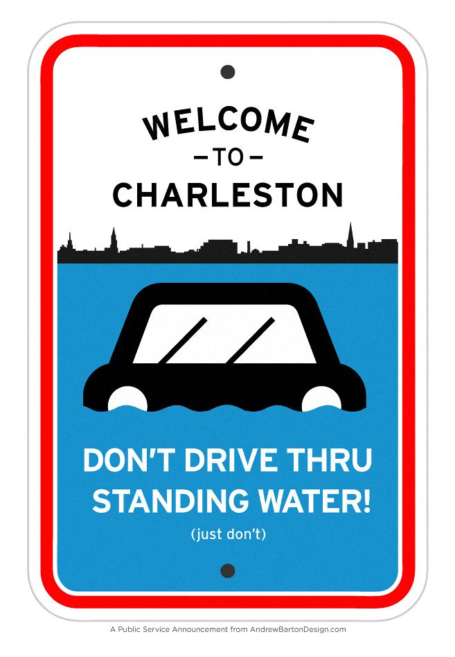 charleston flooding psa
