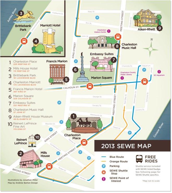 SEWE map