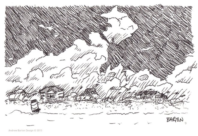 isle of palms sketch