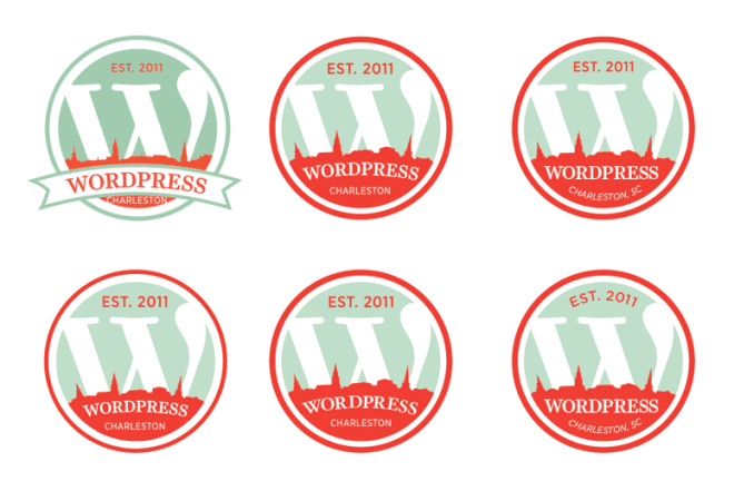 wordpress charleston logo polish