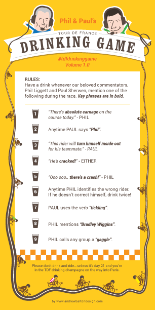 tdf drinking game