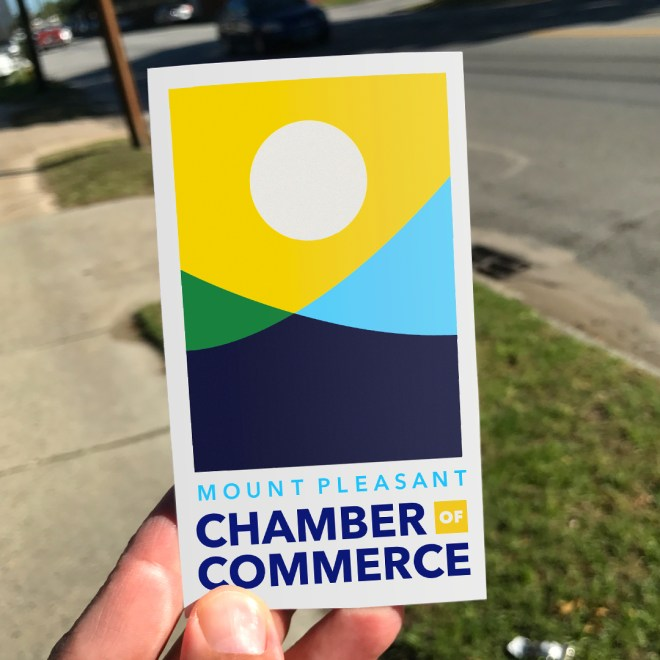 mount pleasant chamber of commerce logo