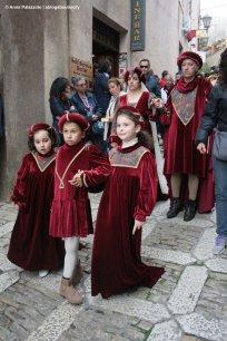 Medieval parade in Erice FedErice a giugno