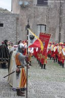 Medieval parade in Erice Sicily