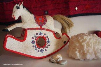 Handmade wooden horse - Palermo
