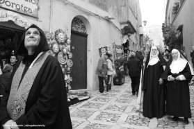 A parade in Erice