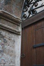 Old doorbell in Erice
