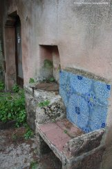 """A majolica """"throne"""" in Erice"""