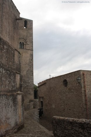 Stones and clouds in Erice
