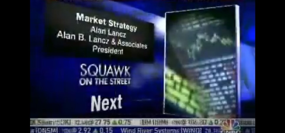 """Squawk on the Street"" live from the N.Y.S.E. – June 01, 2007"