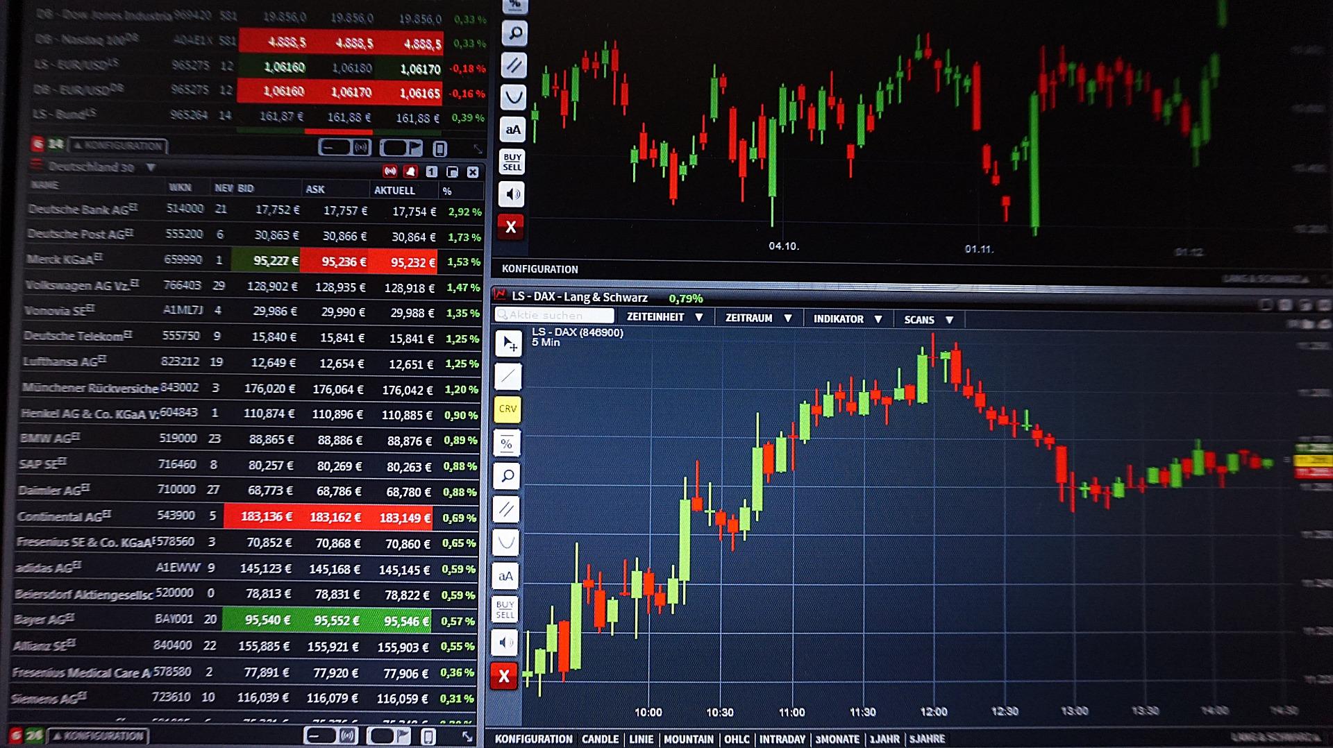 Stocks end higher