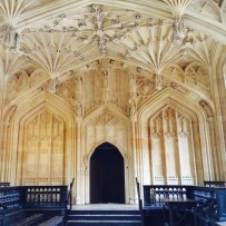 Fan vaulting, the Divinity School