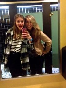 Bathroom mirror selfies?
