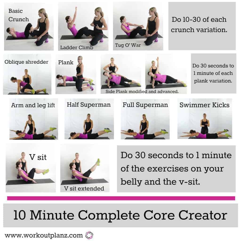 Top Core Workouts For Women At Home For Lean And Strong