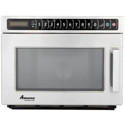 amana hdc182 heavy duty commercial microwave oven abm food
