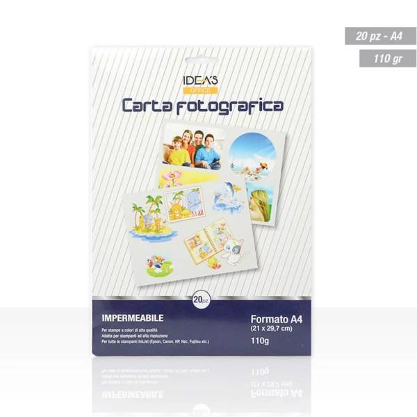 HX810951 CARTA FOTOGRAFICA A4 110GR 20PZ