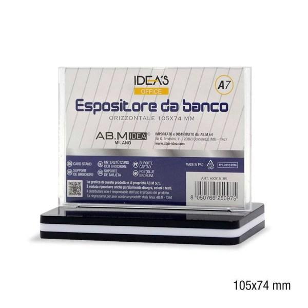 HX915185 ESPOSITORE DA BANCO A7 105X74MM