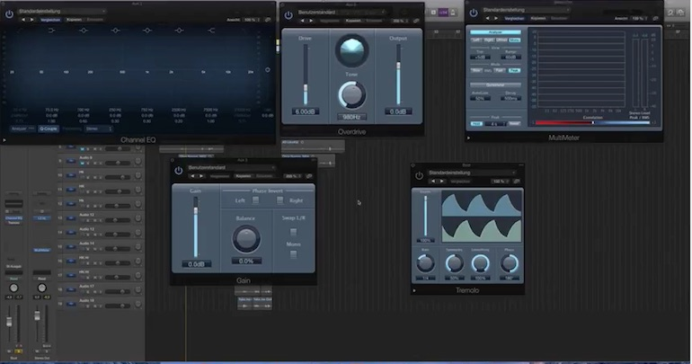 Logic Pro X Plugins Top 5