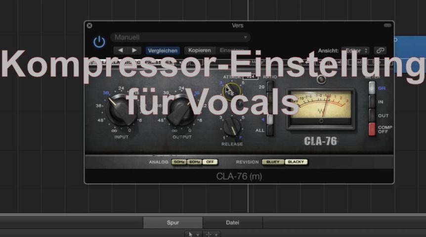 Kompressor für fette und präsente Vocals
