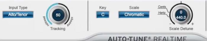 Auto-Tune Key einstellen