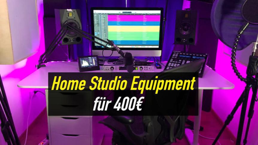 Homestudio einrichten Equipment für Einsteiger (10